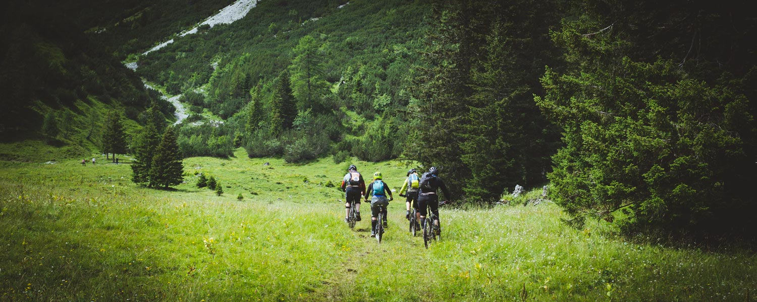 crosscountry mountainbike tours Vorarlberg